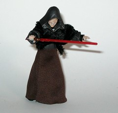 VC12 darth sidious star wars the vintage collection revenge of the sith hasbro 2010 h (tjparkside) Tags: vc12 darth sidious vc tvc 12 twelve star wars vintage collection episode 3 iii three rots revenge sith palpatine senator september 2010 wave 2 lightsaber red force lightning removable hood soft goods stole skirt yoda mace windu duel robe robes vest blue action figure figures hasbro