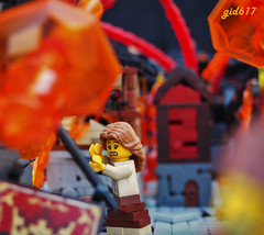 TTR2: Havoc (gid617) Tags: lego volcano havoc escape run flee stone tudor rock