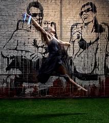 Ghostly (Nige H (Thanks for 7.5m views)) Tags: ghostly dancer grafitti studio midair birmingham nikonmeetup nikonmeetupbirmingham kat