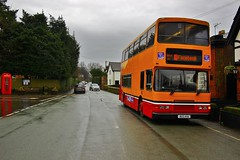 Howards Travel BUS44A (N732JNO) - Daresbury (South West Transport News) Tags: howards travel bus44a n732jno daresbury