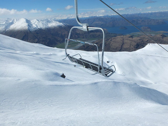 Saddle Quad, Treble Cone NZ (12 Sept 2013)