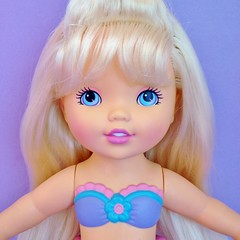1993 Makeup Beauty Doll (Hasbro) (The Barbie Room) Tags: pink girl beauty doll makeup 1993 blond blonde swimsuit 1990s tutu 90s hasbro bathers