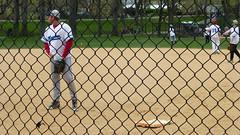 Musicians vs. Late Show (skumroffe) Tags: nyc newyorkcity usa newyork game musicians unitedstates centralpark manhattan lateshow match softball heckscherballfields