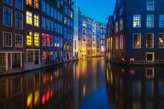 Red Light Amsterdam (albert dros) Tags: netherlands dutch amsterdam night lights nederland canals redlight albertdros