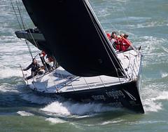 Yacht (Bernie Condon) Tags: sea water boat waves sailing ship wind yacht vessel solent sail southampton yachting blueboxsailingcom