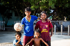 Street fighters (Sandeep.Suresh) Tags: street kids happy football soccer homeless innocent poor young