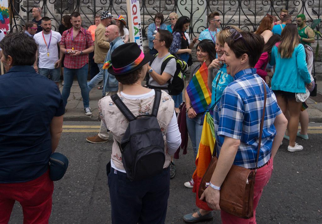 DUBLIN 2015 LGBTQ PRIDE PARADE [WERE YOU THERE] REF-105992