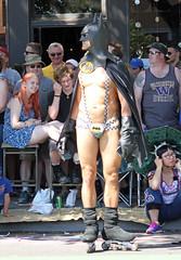 Roller Batman! (kirknelson) Tags: seattle naked nude fremont parade bikers nakedbikers solsticeparade