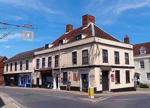 The Three Tuns Inn Bungay Suffolk