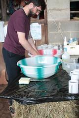 Washing up (ludwig van standard lamp) Tags: