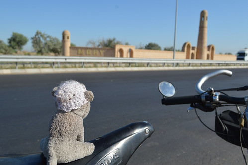 Ringo in Mary, Turkmenistan