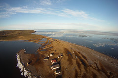 Herschel Island-Qikiqtaruk Territorial Park. Yukon. 15 June 2015. Cameron Eckert. (Cameron Eckert) Tags: above wild sky kite canada art beauty island photography flying flyer lift view wind flight aerial arctic string wilderness kap northern beaufort climatechange tundra perfection kiteaerialphotography seaice skill arcticocean beaufortsea protectedarea marineprotectedarea gopro kiteaerialphotograpy