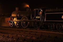 GWS 34587 (kgvuk) Tags: nightphotography greyhound trains locomotive railways 440 didcot steamlocomotive gws didcotrailwaycentre t9 30120 30289 greatwesternsociety didcotengineshed 81e