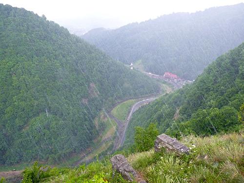 Poienarii citadel climb1500 steps  (5)