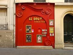 Paris - 2015 (Hanoi1933) Tags: france sign theater magasin boutique storefront thtre vitrine enseigne parigi pigalle devanture 2015   parisstreetart lebout  pariswallart