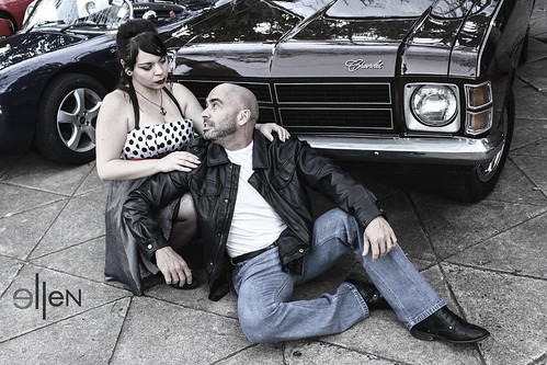 couple pin up rockabilly