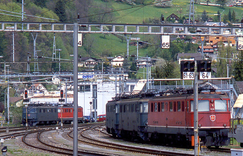 R12814.  Ae6/6s at Sargans.