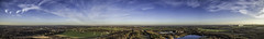 Panoramic from the old Bold Colliery site. (sammys gallery) Tags: bold sthelens panoramic aerial