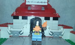 super android 17 (teamfourstud) Tags: decals decal custom android17 17 android gt dbgt dbz dragonballz z ball dragon dragonball lego indoor illustration cartoon white background dragonballgt super drawing text mini figure minifigure figures minifigures