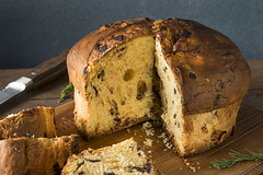 Homemade Chocolate and Fig Pannetone (brent.hofacker) Tags: background baked bakery bread cake candied celebration chocolate chocotone christmas cuisine culture decoration delicious dessert festive food fresh fruit fruitcake holiday homemade indulgence italian italy merry milan orange panetone panettone panettonecake pastry plate raisin rustic seasonal slice sliced sugar sweet tasty tradition traditional white winter xmas