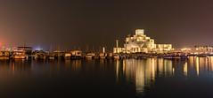 Museum of Islamic Art- Doha (aliffc3) Tags: museumofislamicart doha qatar tamron2470f28 reflections travel tourism architecture dhows boats