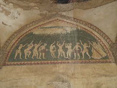 Trapeze artists depicted on the fresco of the memorial cenotaph of Sethani ki Chattri in the town of Farrukhnagar in Gurgaon district.  #SethaniKiChattri #Farrukhnagar #Haryana #ncr #Delhi #Gurgaon #picoftheday #photooftheday #ClimberExplorer #rural #incr (Anil.Yadav1) Tags: sethanikichattri picoftheday delhi incredibleindia farrukhnagar artist countryside cenotaph climberexplorer ncr haryana rural fresco trapeze gurgaon photooftheday