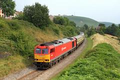 60017 & 60063, Bedlinog. (Chris G Perkins) Tags: 60017 ews bedlinog locomotive dbc dbs tug