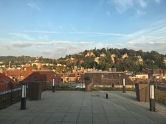 Rooftop view, Park Inn!