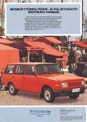 1985 Wartburg (Hugo-90, 35 million views) Tags: dkw veb ifa eisenach wartburg 1000 ads advertising brochure folder ddr