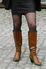 2016-03-20-58 (mathildecross) Tags: crossdress crossdressing crossdresser boots bamberg pantyhose outdoor transvestit cd