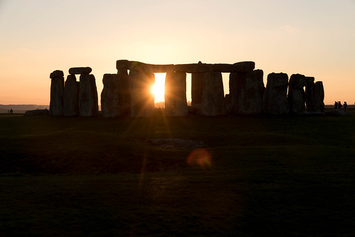Stonehenge in Sunset