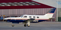 PA-46 | N5EQ | AMS | 20170115 (Wally.H) Tags: piper pa46 malibu mirage n5eq ams eham amsterdam schiphol airport