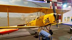 de Havilland Tiger Moth c/n 83101 Netherlands Air Force serial A-38 (sirgunho) Tags: lelystad aviodrome aviation museum airport dda stichting fokker preserved aircraft aeroplane luchtvaart de havilland tiger moth cn 83101 netherlands air force serial a38