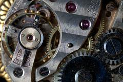 Watch (lenswrangler) Tags: lenswrangler digikam watch gear ruby macromondays contraption gizmo gadget spring time timepiece clock necklace mainspring jewelry screw cog wheel metal lecolutre swiss movement