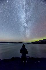 Galaxy Rising (bradders29) Tags: aurora milkyway shieldaig anaird peninsula lochtorridon grahambradshaw night stars astro scotland highlands