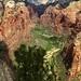 Vue sur la vallée de Zion depuis Angel's Landing #2