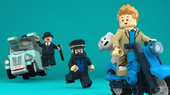 LEGO Tintin - The Chase is On! (Concorer) Tags: brick race toy tin lego fig snowy character group reporter games legos figure chase tintin decal tt minifig adventures calculus professor custom knob dupont unicorn ideas et thompson journalist tournesol dimensions milou minifigure herge capitaine dupond tompson concore tryphon crowdfund hergé's herge's