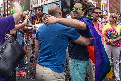 DUBLIN 2015 GAY PRIDE FESTIVAL [BEFORE THE ACTUAL PARADE] REF-106241