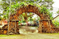 ancient hawaiian archway (N@ncyN@nce) Tags: hawaii lava ancient oahu landmark northshore archway