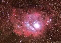 Messier 8 - Lagoon Nebula (williamtan226) Tags: astrometrydotnet:status=solved astrometrydotnet:id=nova1140529