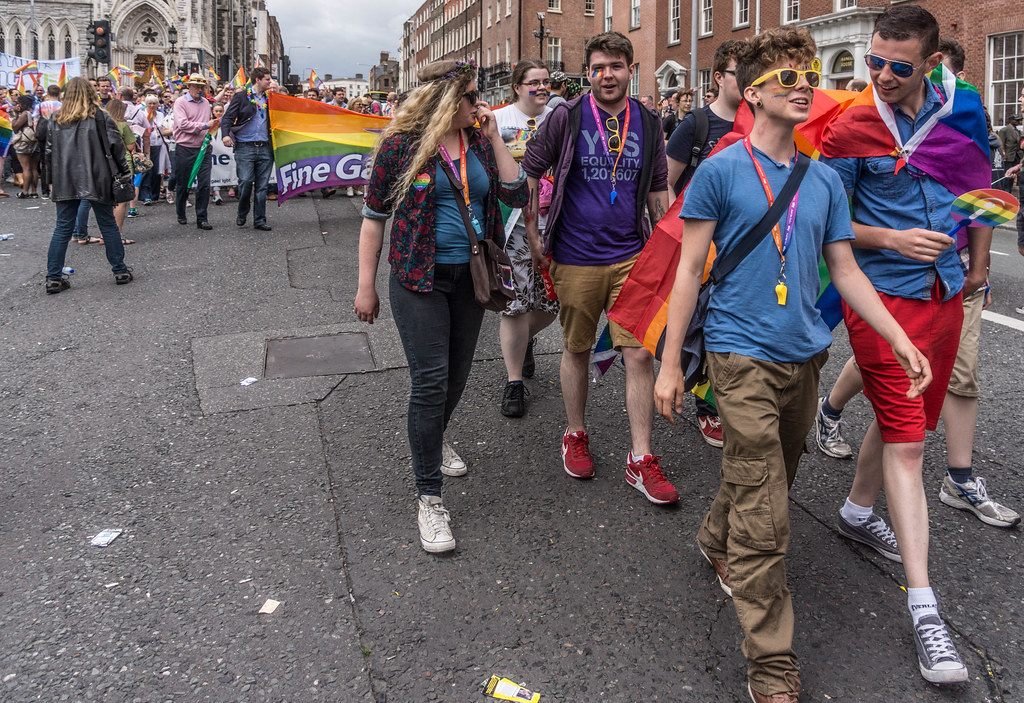DUBLIN 2015 LGBTQ PRIDE PARADE [WERE YOU THERE] REF-105999