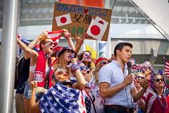 FIFA Women's World Cup Canada Final (USA vs Japan) July 5th, 2015 (GoToVan) Tags: fifa soccer sa bcplace sawa nadeshiko