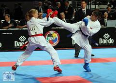 Karate WM- Germany 2014 (51) (Sport + Event) Tags: men fight champion boxen