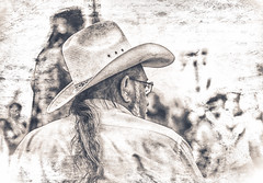 the West (Chains of Pace) Tags: portrait oklahoma vintage cowboy country retro oldwest
