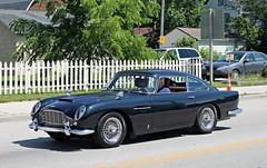 Aston Martin DB5 (SPV Automotive) Tags: black classic sports car martin exotic coupe aston db5