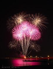 Queen of Hearts in the Sky.  Duane Dizon (duanearmix007) Tags: light long exposure fireworks eid trails ramadan doha qatar iftar
