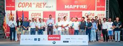 Foto de familia de los vencedores de la 34 Copa del Rey MAPFRE