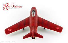 Mig-15 Red Falcons Display Team (Andy R Moore) Tags: soviet jetfighter 172 scalemodel mig15 eduard redfalcons