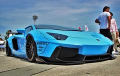 LAMBORGHINI AVENTADOR (Audi quattro2) Tags: blue japan liberty walk exotic lb supercar stance v12 hellaflush