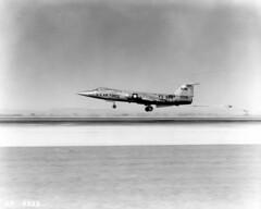 Lockheed F-104A 56-0811 [mfr AP 4923 via RJF] (San Diego Air & Space Museum Archives) Tags: lockheedstarfighter f104a aircraft 560811 aviation airplane militaryaviation unitedstatesairforce usairforce usaf lockheed lockheedf104starfighter lockheedf104 f104starfighter f104 starfighter lockheedf104astarfighter lockheedf104a generalelectric ge generalelectricj79 gej79 j79 j79ge3